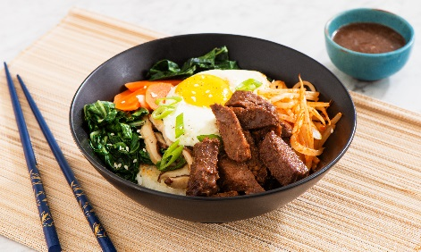 Korean Rice Bowl with Pot Roast