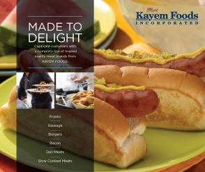 Kayem Food Service Offerings Booklet